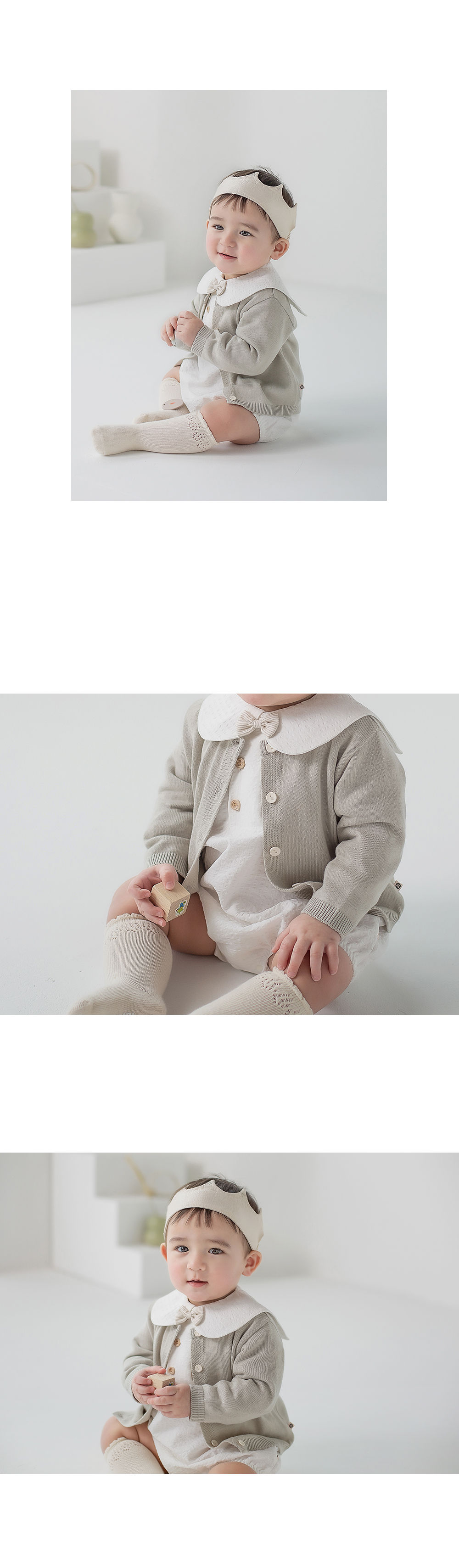 HAPPY PRINCE - Korean Children Fashion - #Kfashion4kids - Vine Knit Cardigan - 7