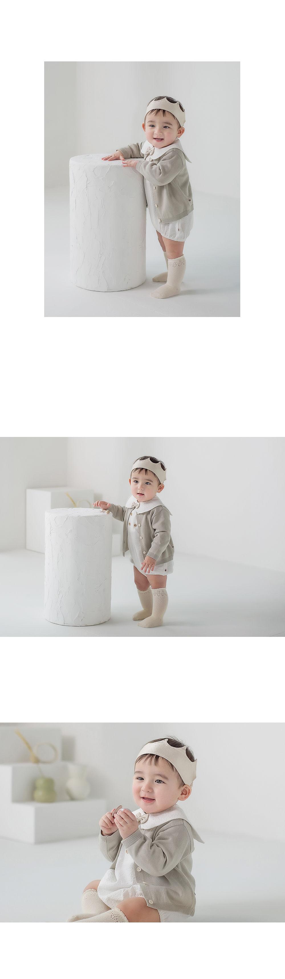HAPPY PRINCE - Korean Children Fashion - #Kfashion4kids - Vine Knit Cardigan - 8