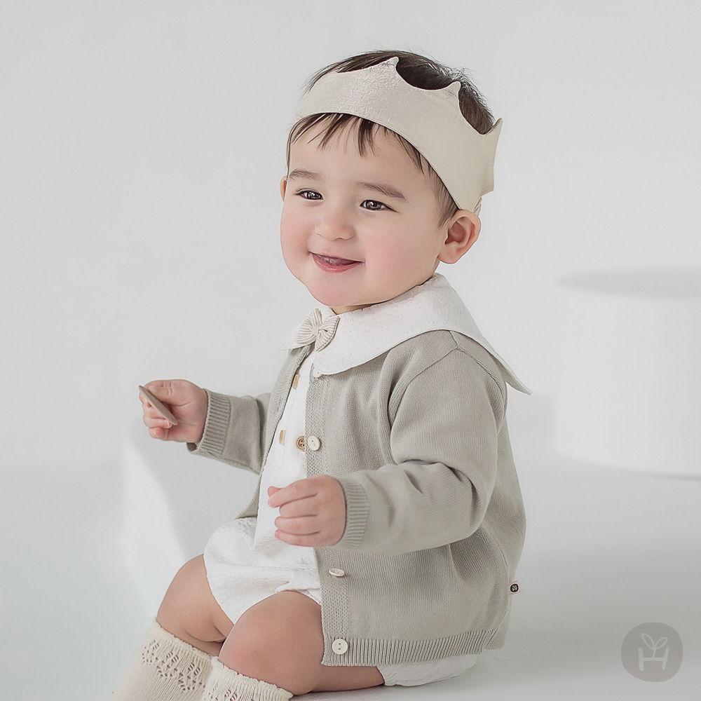 HAPPY PRINCE - BRAND - Korean Children Fashion - #Kfashion4kids - Vine Knit Cardigan