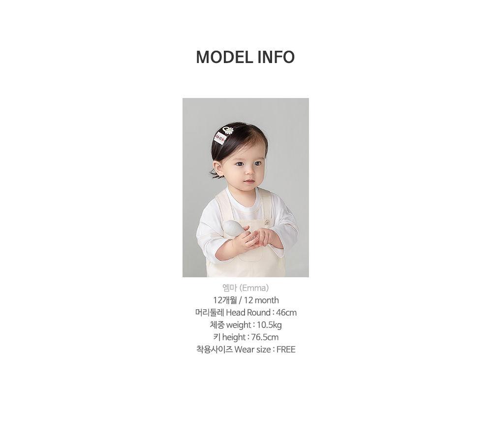 HAPPY PRINCE - Korean Children Fashion - #Kfashion4kids - Muaa Barrettes [set of 5] - 11