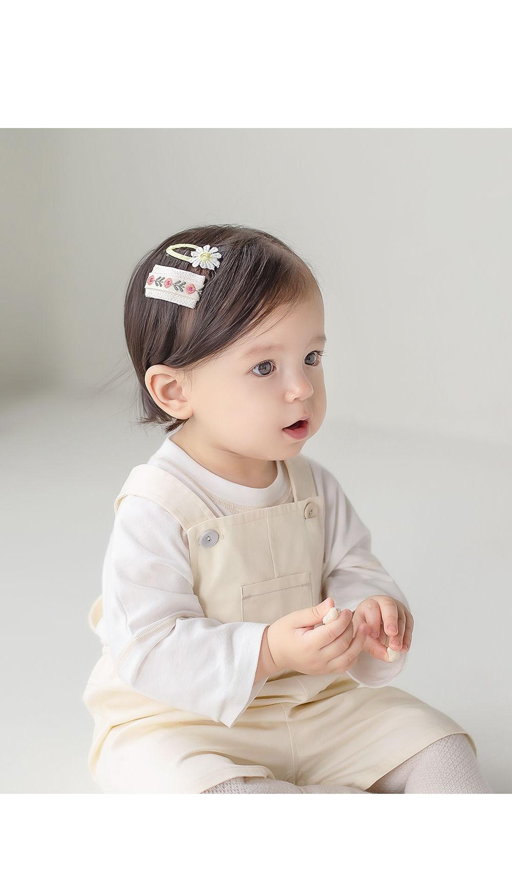 HAPPY PRINCE - Korean Children Fashion - #Kfashion4kids - Muaa Barrettes [set of 5] - 2