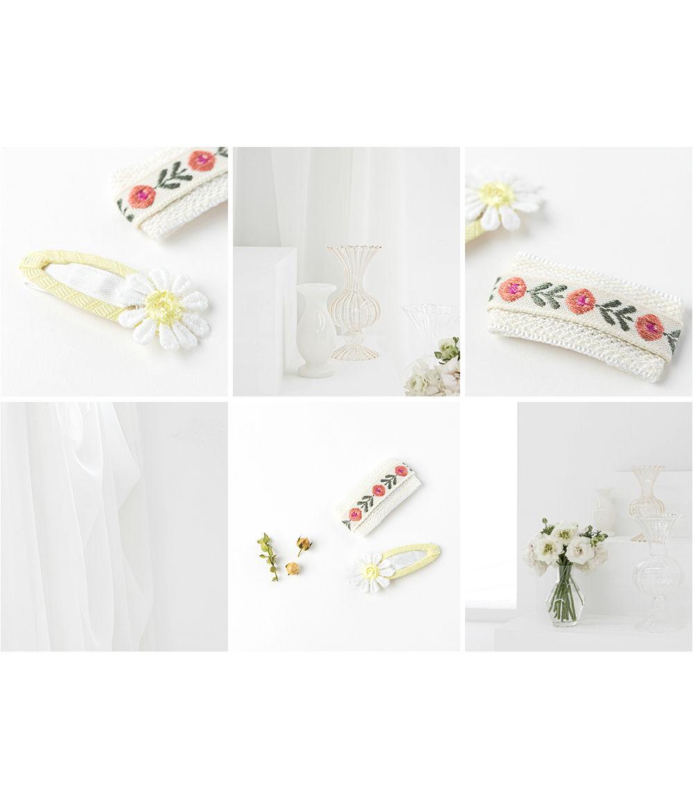 HAPPY PRINCE - Korean Children Fashion - #Kfashion4kids - Muaa Barrettes [set of 5] - 6