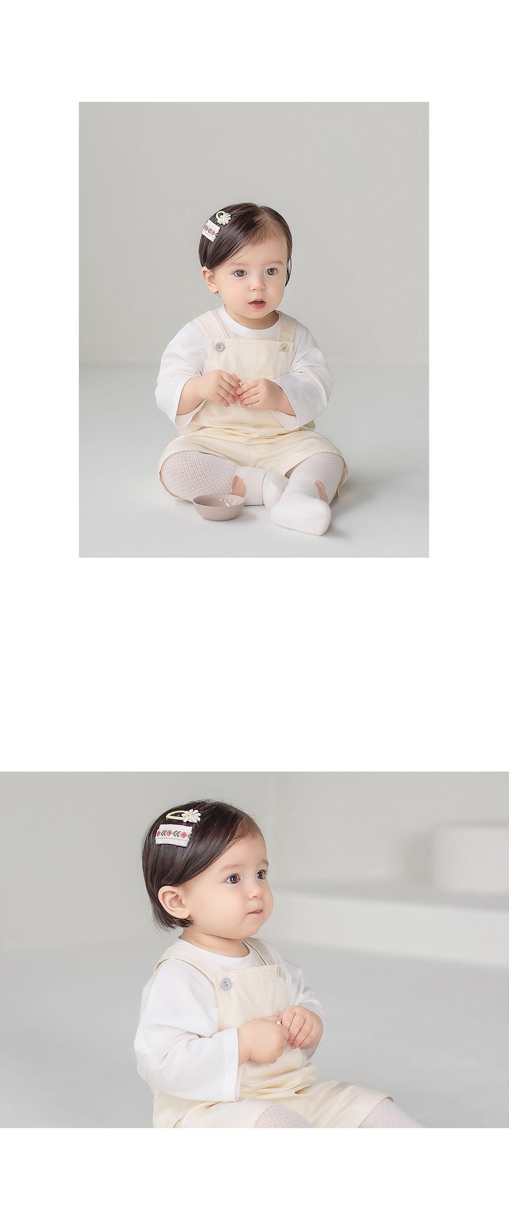 HAPPY PRINCE - Korean Children Fashion - #Kfashion4kids - Muaa Barrettes [set of 5] - 7