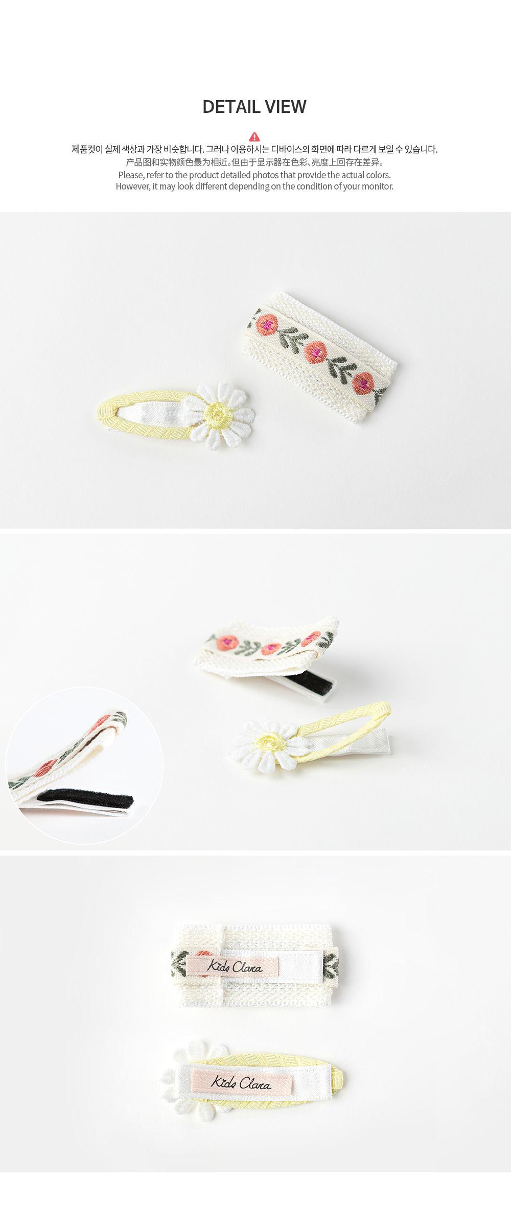 HAPPY PRINCE - Korean Children Fashion - #Kfashion4kids - Muaa Barrettes [set of 5] - 8