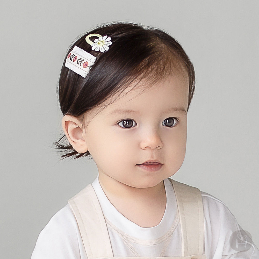 HAPPY PRINCE - BRAND - Korean Children Fashion - #Kfashion4kids - Muaa Barrettes [set of 5]