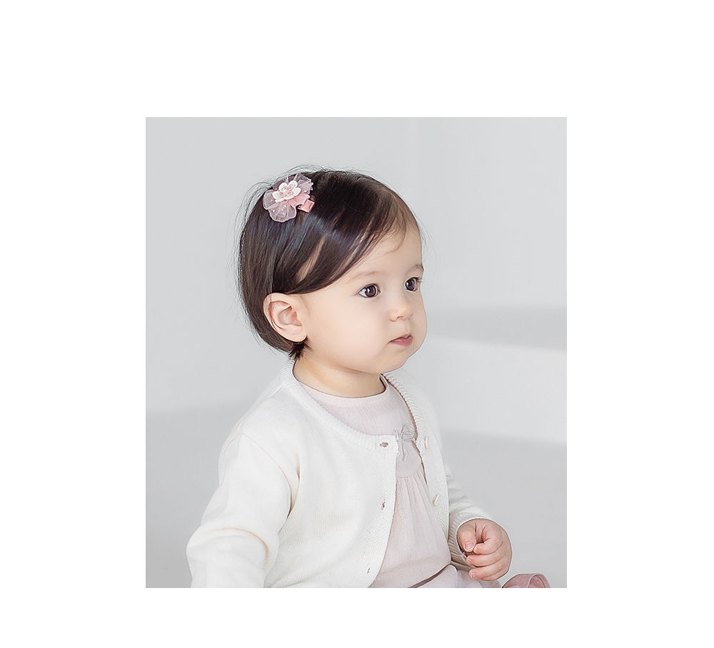 HAPPY PRINCE - Korean Children Fashion - #Kfashion4kids - Rosena Hairpin [set of 5] - 3