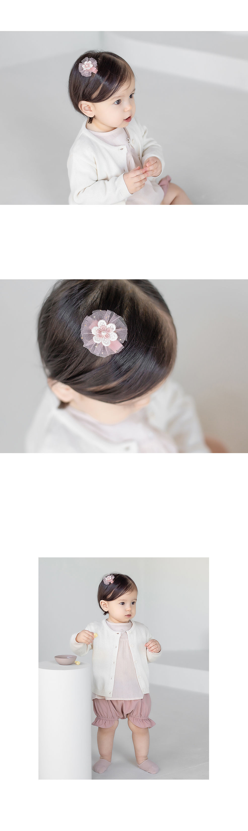 HAPPY PRINCE - Korean Children Fashion - #Kfashion4kids - Rosena Hairpin [set of 5] - 5