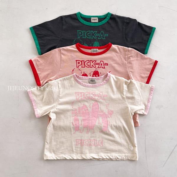 JEJEUNOSITY - Korean Children Fashion - #Kfashion4kids - Pickle Tee - 3
