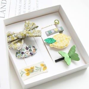 JIREH BOW - BRAND - Korean Children Fashion - #Kfashion4kids - Olive Gift Set [set of 7]