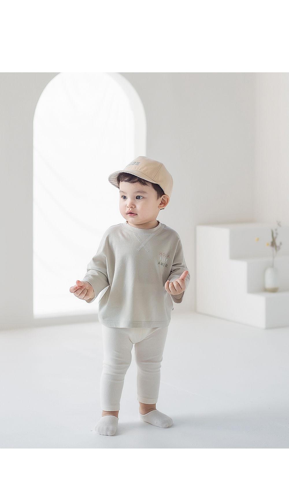 KIDS CLARA - Korean Children Fashion - #Kfashion4kids - Nest Baby Boat Socks 2-in-1 [set of 5] - 2