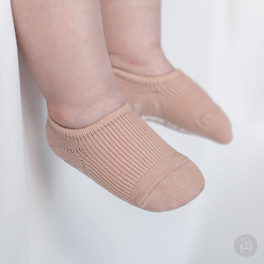 KIDS CLARA - BRAND - Korean Children Fashion - #Kfashion4kids - Nest Baby Boat Socks 2-in-1 [set of 5]