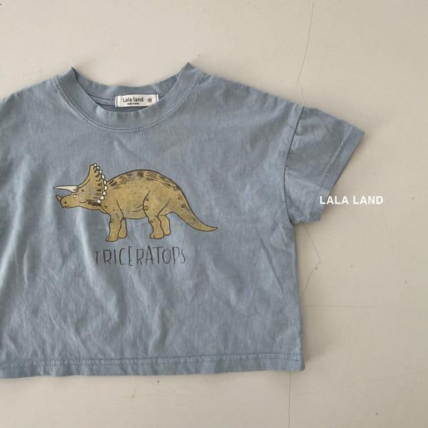 LALALAND - Korean Children Fashion - #Kfashion4kids - Summer Dinosaur Tee - 2