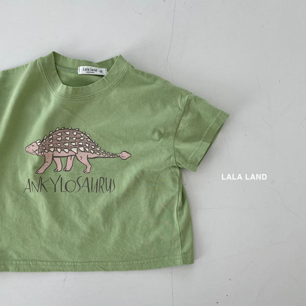 LALALAND - Korean Children Fashion - #Kfashion4kids - Summer Dinosaur Tee - 3