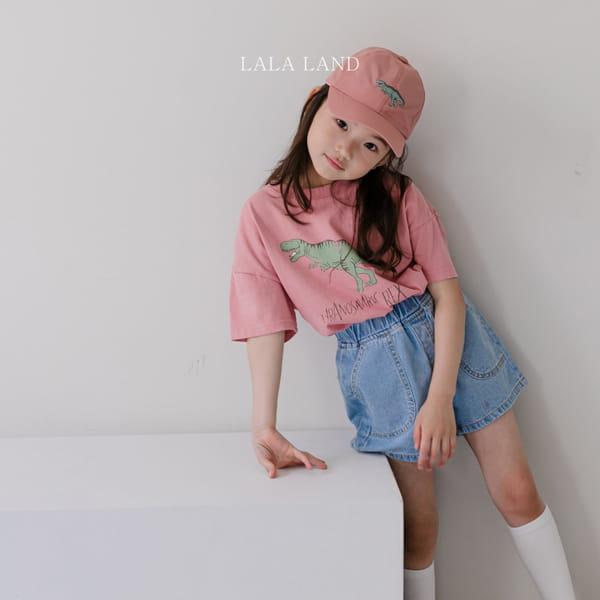 LALALAND - Korean Children Fashion - #Kfashion4kids - Summer Dinosaur Tee - 4