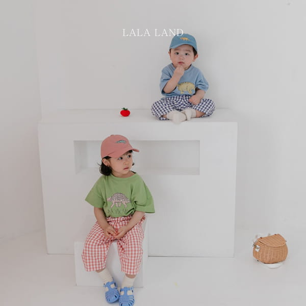 LALALAND - Korean Children Fashion - #Kfashion4kids - Summer Dinosaur Tee - 5