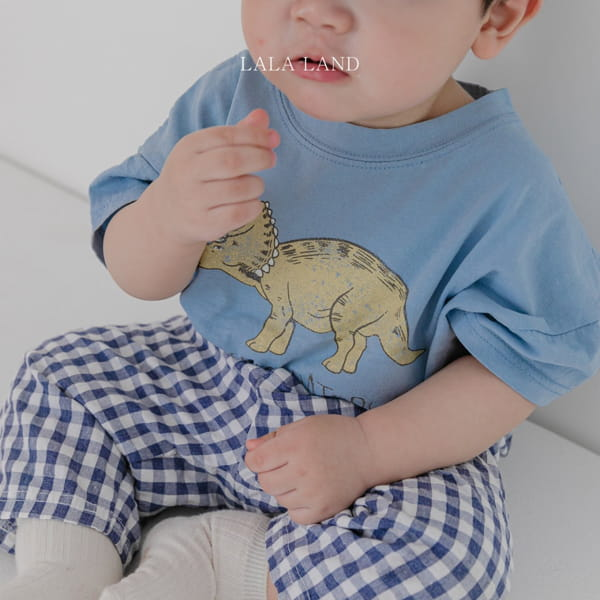 LALALAND - Korean Children Fashion - #Kfashion4kids - Summer Dinosaur Tee - 6