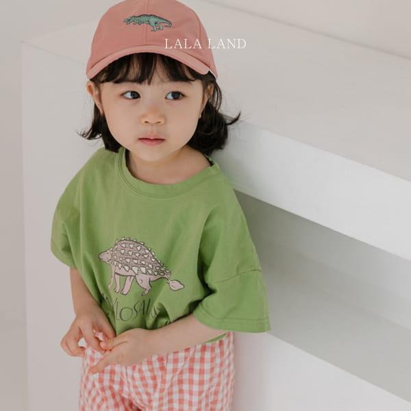 LALALAND - Korean Children Fashion - #Kfashion4kids - Summer Dinosaur Tee - 8