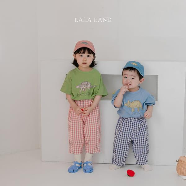LALALAND - Korean Children Fashion - #Kfashion4kids - Summer Dinosaur Tee - 9