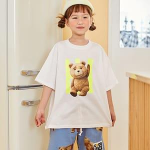 LILAS - BRAND - Korean Children Fashion - #Kfashion4kids - Hi Bear Tee