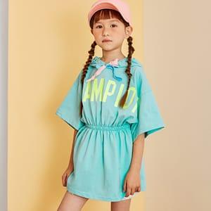 LILAS - BRAND - Korean Children Fashion - #Kfashion4kids - Champion Hoody One-piece