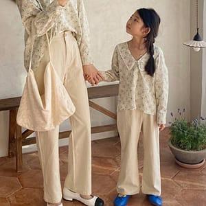 LOVE ROSIE - BRAND - Korean Children Fashion - #Kfashion4kids - Alo Washing Cotton Pants