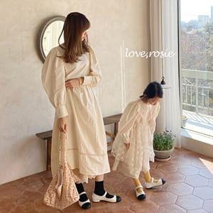 LOVE ROSIE - BRAND - Korean Children Fashion - #Kfashion4kids - Vintage Lace One-piece