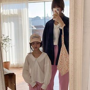 LOVE ROSIE - BRAND - Korean Children Fashion - #Kfashion4kids - Theory Lace Blouse White