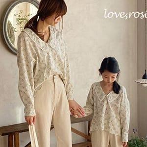 LOVE ROSIE - BRAND - Korean Children Fashion - #Kfashion4kids - Theory Lace Blouse Flower