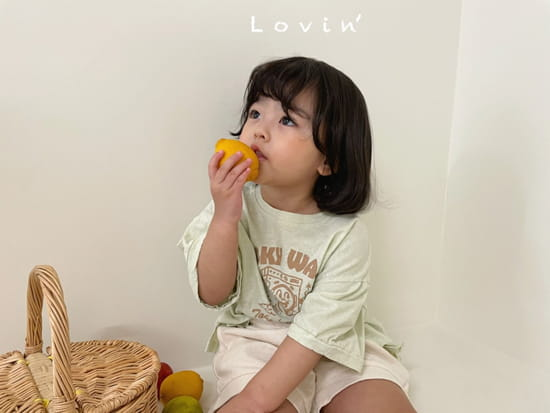 LOVIN - Korean Children Fashion - #Kfashion4kids - Washing Tee - 3