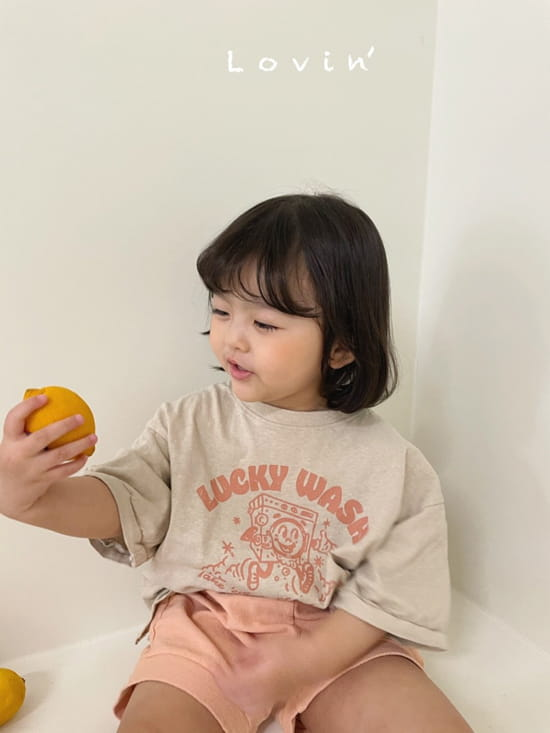 LOVIN - Korean Children Fashion - #Kfashion4kids - Washing Tee - 4