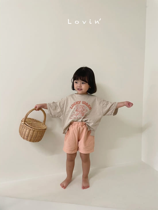 LOVIN - Korean Children Fashion - #Kfashion4kids - Washing Tee - 6