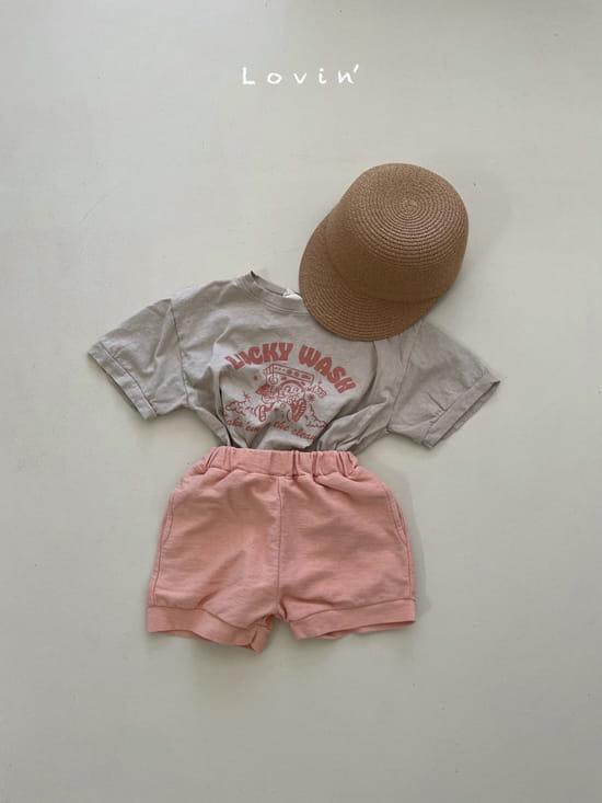 LOVIN - Korean Children Fashion - #Kfashion4kids - Washing Tee - 8