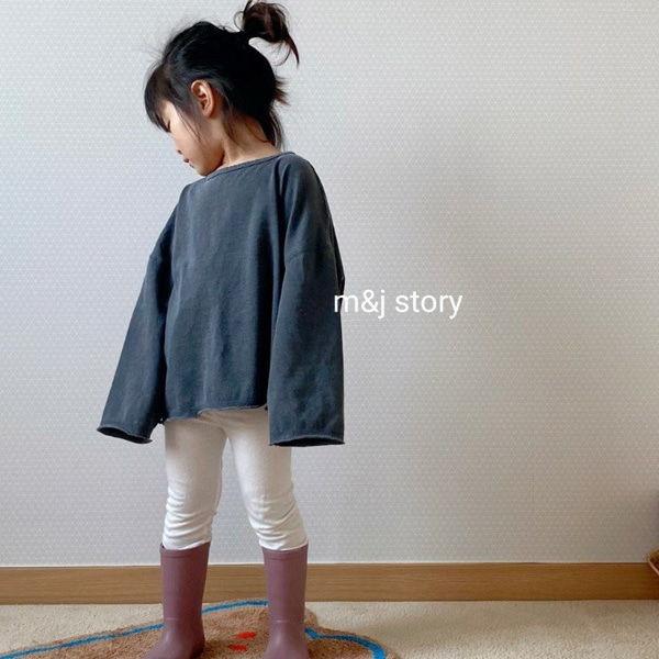 M & J STORY - BRAND - Korean Children Fashion - #Kfashion4kids - Cotton 20 Count Tee