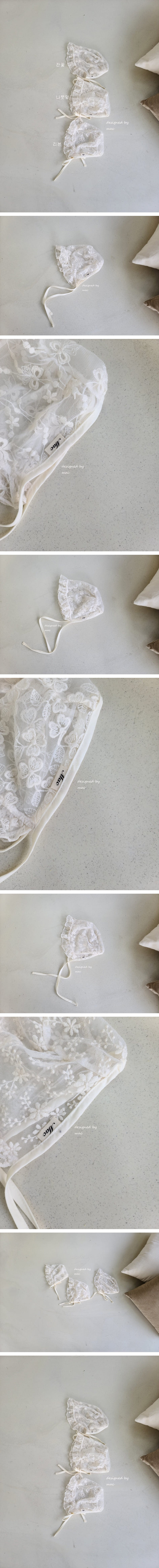MAC - Korean Children Fashion - #Kfashion4kids - Lace Bonnet