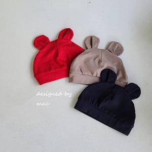 MAC - BRAND - Korean Children Fashion - #Kfashion4kids - Bear Bonnet