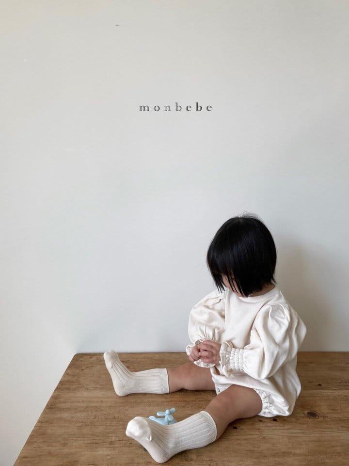 MONBEBE - Korean Children Fashion - #Kfashion4kids - Easy Smocked Bodysuit