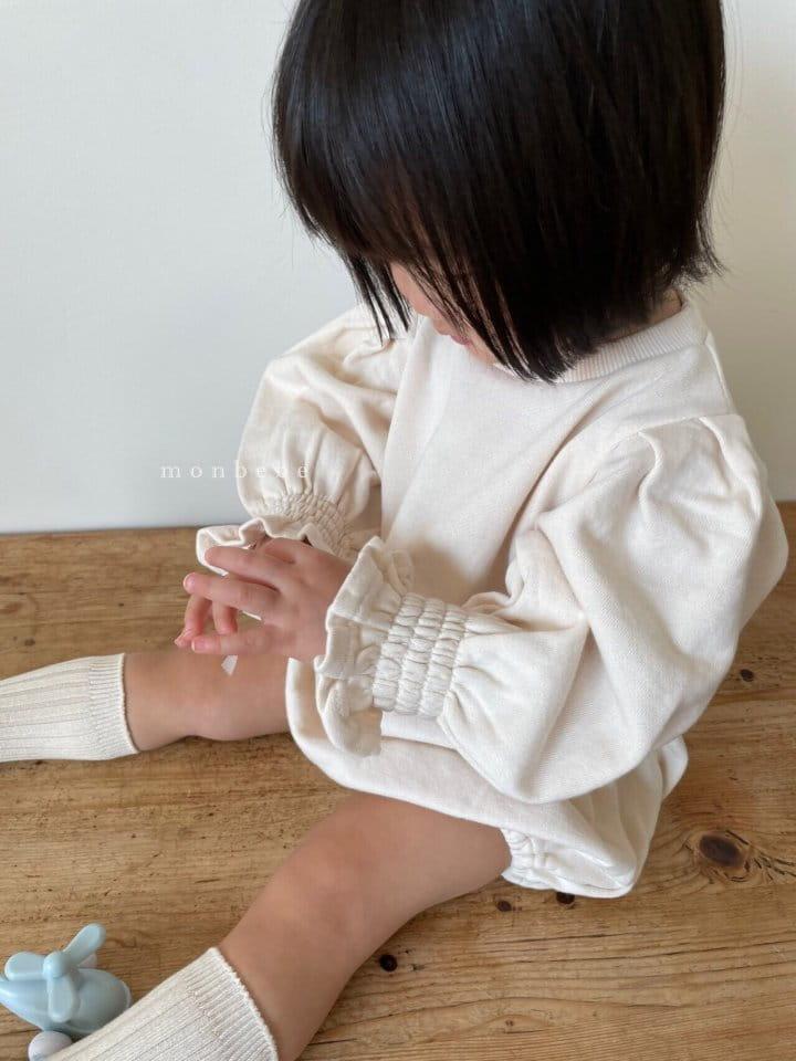 MONBEBE - Korean Children Fashion - #Kfashion4kids - Easy Smocked Bodysuit - 2