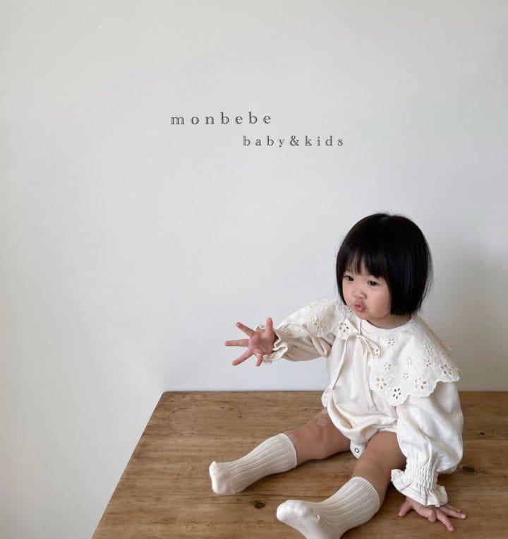 MONBEBE - Korean Children Fashion - #Kfashion4kids - Easy Smocked Bodysuit - 3