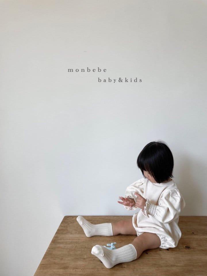 MONBEBE - Korean Children Fashion - #Kfashion4kids - Easy Smocked Bodysuit - 5