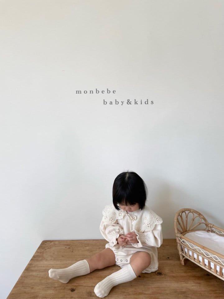 MONBEBE - Korean Children Fashion - #Kfashion4kids - Easy Smocked Bodysuit - 6