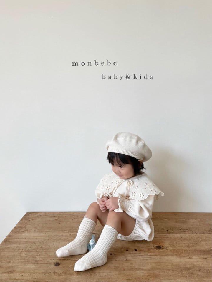 MONBEBE - Korean Children Fashion - #Kfashion4kids - Easy Smocked Bodysuit - 7