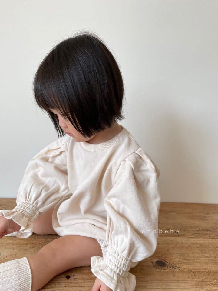 MONBEBE - Korean Children Fashion - #Kfashion4kids - Easy Smocked Bodysuit - 8