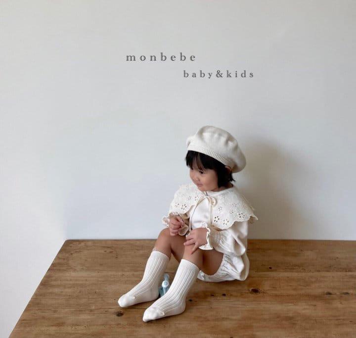 MONBEBE - Korean Children Fashion - #Kfashion4kids - Easy Smocked Bodysuit - 9