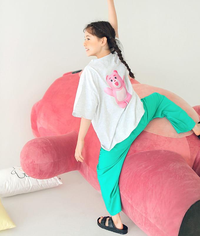 PEACH-CREAM - BRAND - Korean Children Fashion - #Kfashion4kids - Bellygom Pchees Top Bottom Set