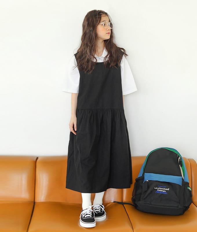 PEACH-CREAM - BRAND - Korean Children Fashion - #Kfashion4kids - Kelly One-piece