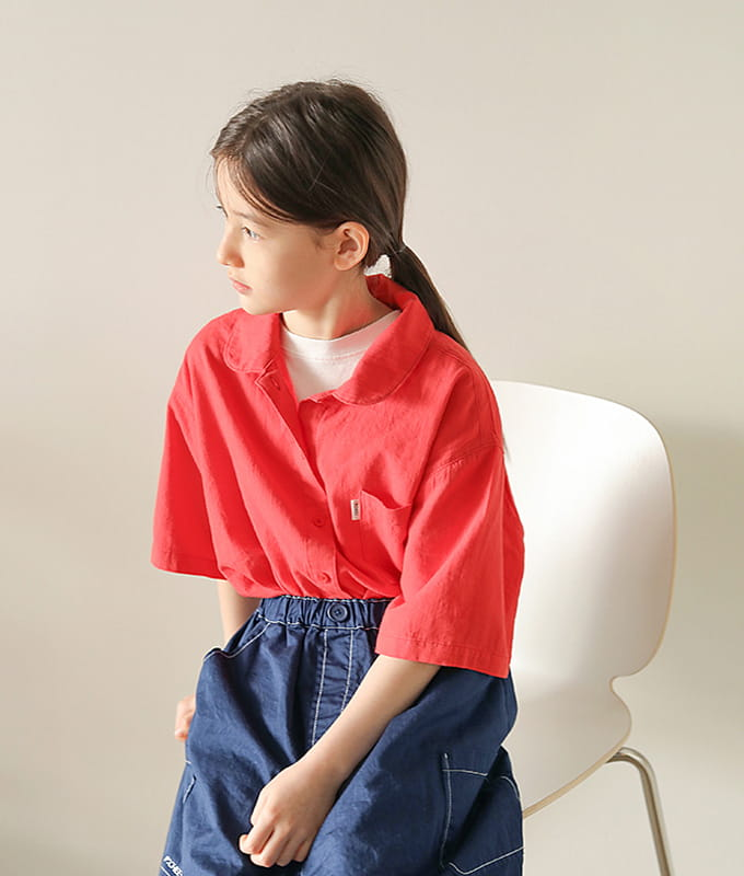 PEACH-CREAM - BRAND - Korean Children Fashion - #Kfashion4kids - Limoges Shirt