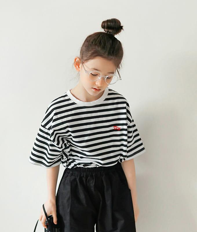 PEACH-CREAM - BRAND - Korean Children Fashion - #Kfashion4kids - Colorado Tee