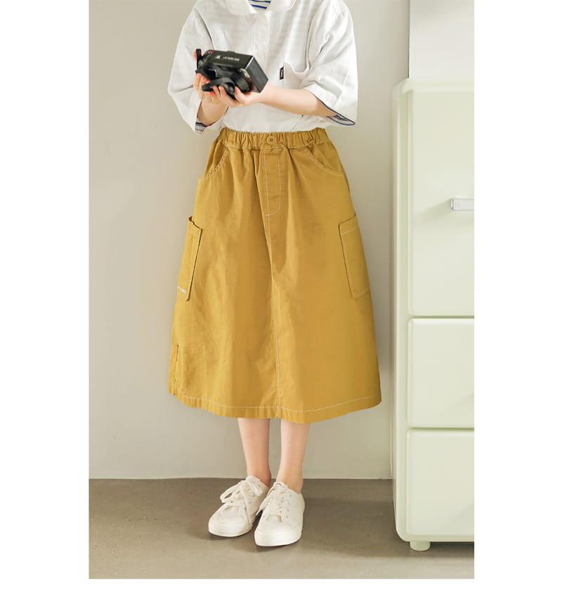 PEACH-CREAM - Korean Children Fashion - #Kfashion4kids - Allen Skirt