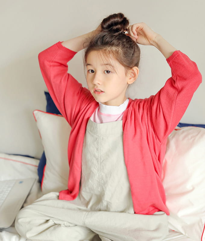 PEACH-CREAM - BRAND - Korean Children Fashion - #Kfashion4kids - Girona Cardigan