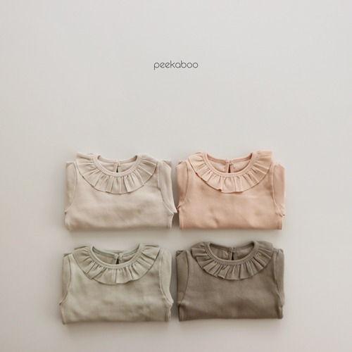PEEKABOO - BRAND - Korean Children Fashion - #Kfashion4kids - Milky Easywear